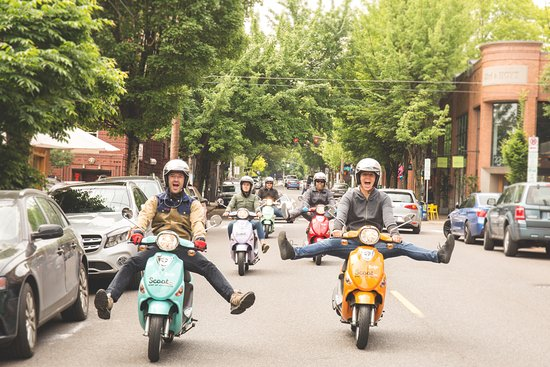 ‪Scoot PDX scooter rentals‬