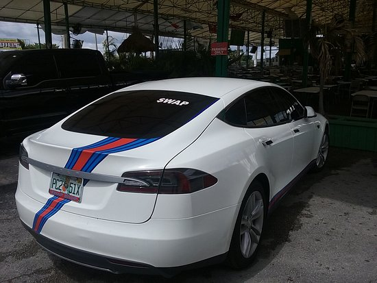 Tesla at the Swap Shop  <3 - Picture of Swap Shop, Fort Lauderdale