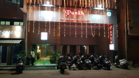 Rajnandgaon, Ấn Độ: Punk Restaurant