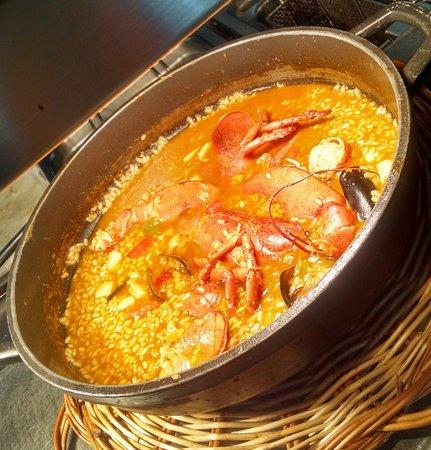 Restaurante Sodemar: Arroz Caldoso de Bogavante