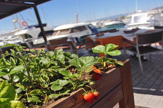 Restaurante Sodemar: Terraza