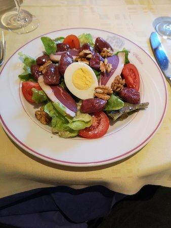 salade magret gésiers