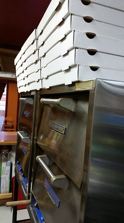 Republic Pizza Co.: RPC stacks them up for volume catering orders.