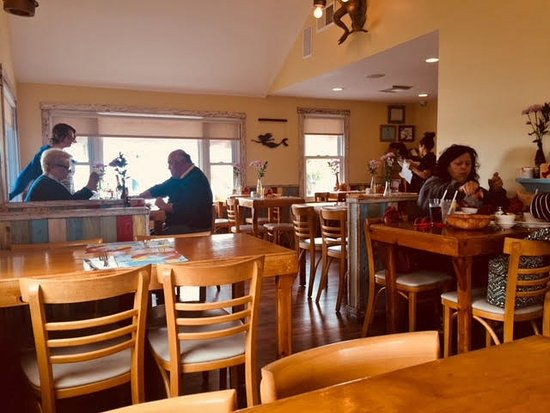 Red's Lobster Pot: just 12 tables makes a cozy dining space