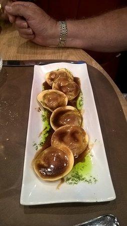 Foie gras raviolis