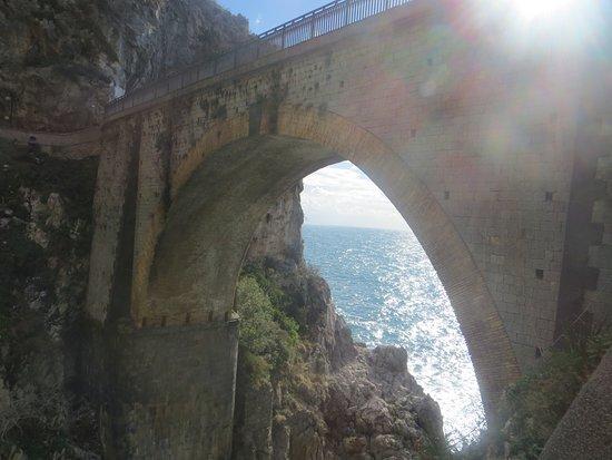Fiordo di Furore, Italy: ponte
