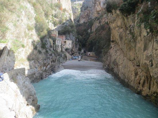 Fiordo di Furore, Italy: la spiaggetta