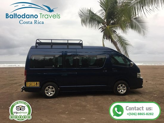 Baltodano Travels - Transportation, Jaco Costa Rica