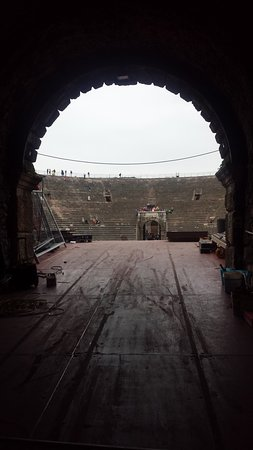 Arènes de Vérone : Particolare dell'Arena.