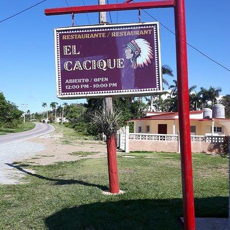 El Cacique: Best food in Jibacia!