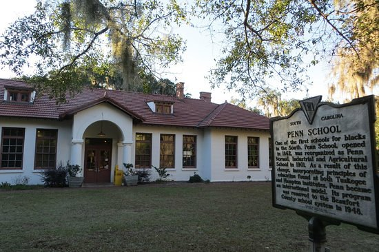 Saint Helena Island, Carolina del Sur: Penn Center - York W. Bailey Museum