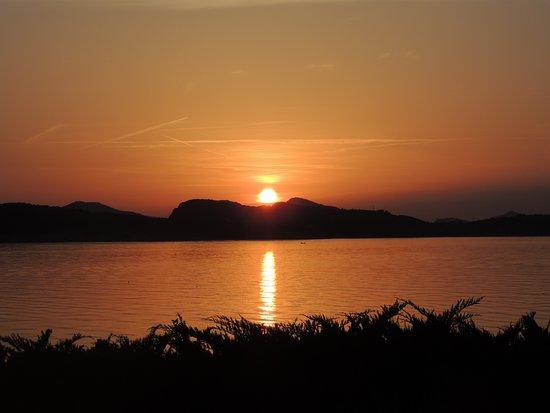 Valamar Collection Dubrovnik President Hotel : Vista do pôr do sol a partir da varanda do quarto