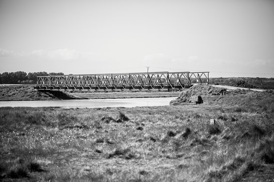 Orford Ness National Nature Reserve: The main bridge you cross on the red path.