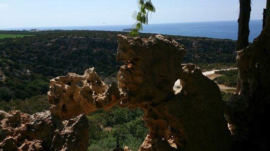 Akamas Peninsula: Ausblick von Viklaris, The Last Castle