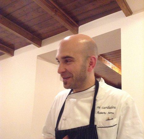 Abbasanta, Italy: Lo Chef Roberto Serra