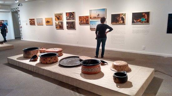 Museu Nacional da Republica: exposição indigena