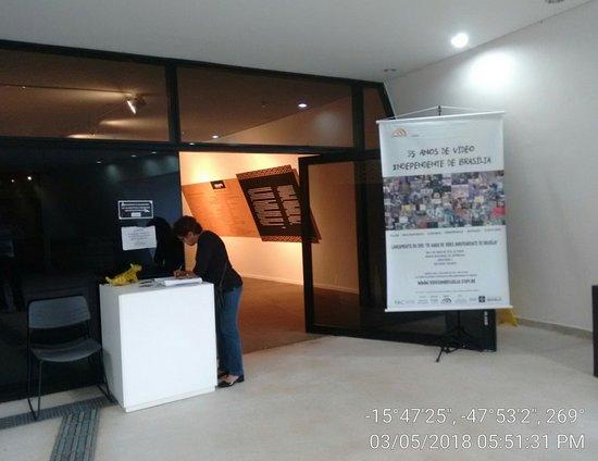 Museu Nacional da Republica: entrada terreo do museu