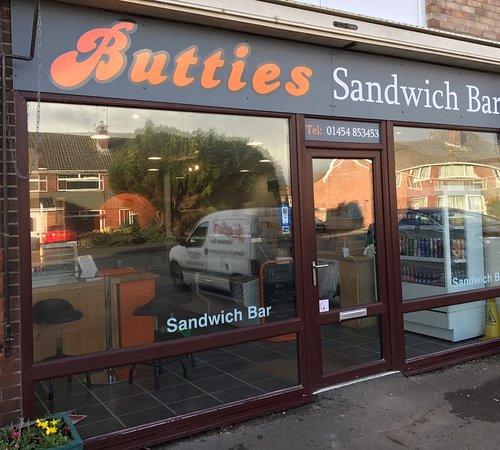 Thornbury, UK: Butties - Everyone loves Butties
