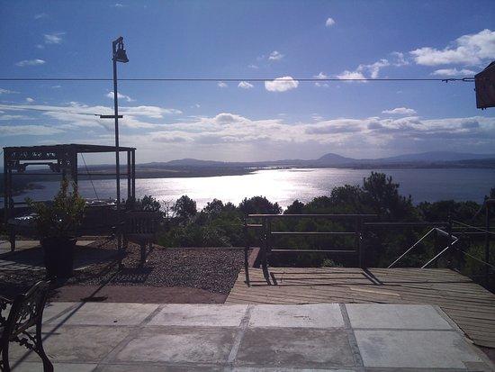Hotel Art & Spa Las Cumbres: View of Laguna del Sauce