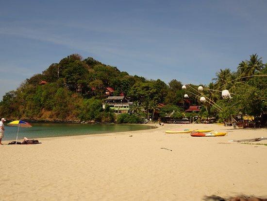 Kantiang Bay: La spiaggia verso nord