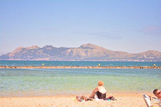 Playa del Puerto de Pollensa: Port de Pollenca Beach