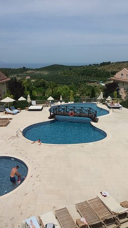 CLC Kusadasi Golf & Spa Resort: View from one of the pool snack bars