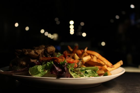 Solon, Ohio: Steak and fries