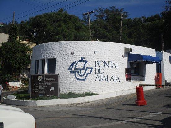 Prainhas do Pontal do Atalaia: Entrada desde la Calle