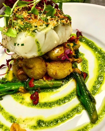 The Preston Gate Inn: Baked cod 😍
