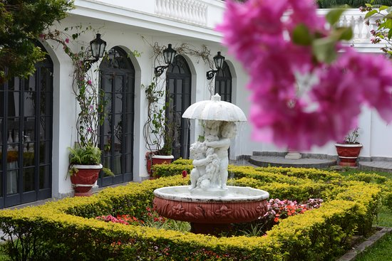 Biazi Paradise Hotel: Jardins / Fonte