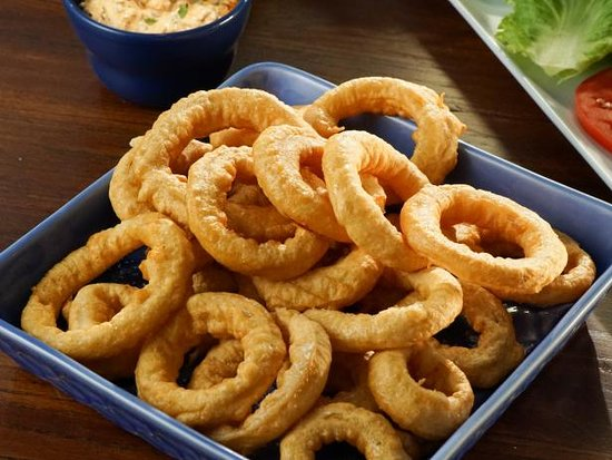 Peter's Pizza Bray: ONION RINGS