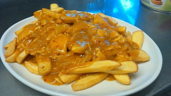 Peter's Pizza Bray: CURRY CHIPS
