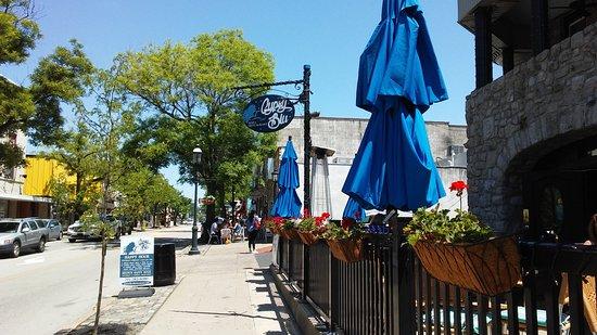 Gypsy Blu: outside of restaurant