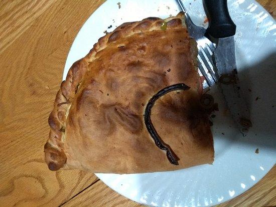 Formaggio's Pie Shack: Overcooked.