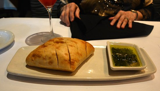 Bonefish Grill: Bread with Chimichurra Dipping Sauce