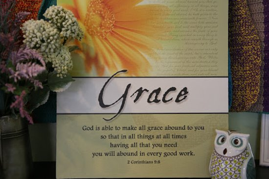 """Living Grace Café: Grace from God - what our name """"Living Grace Cafe"""" comes from"""