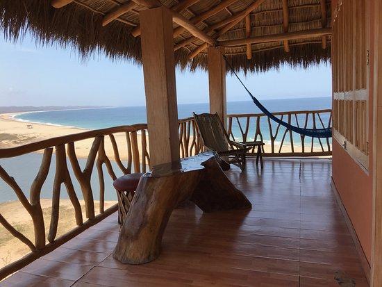 HOTEL CABAÑAS EL CIELITO: Terrace