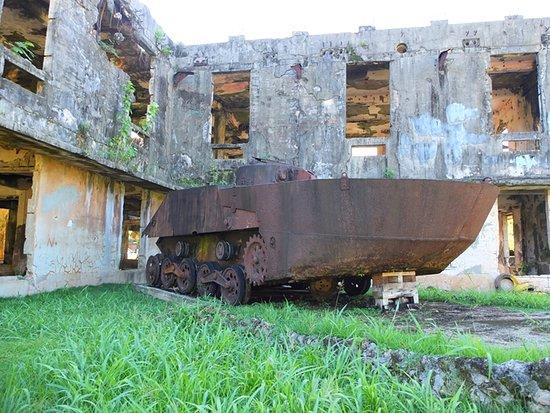 Airai, Palau: 特二式内火艇が置かれていた