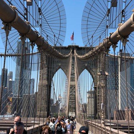 Γέφυρα του Brooklyn Φωτογραφία