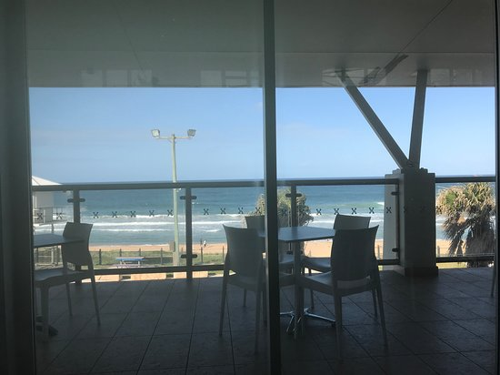 Shelly Beach, Australien: Overlooking the balcony and ocean