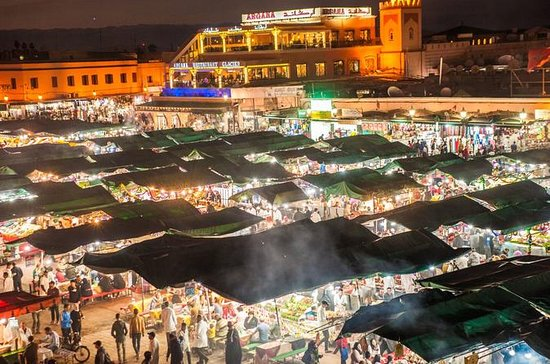 Marrakech Food and Djemaa El Fna...
