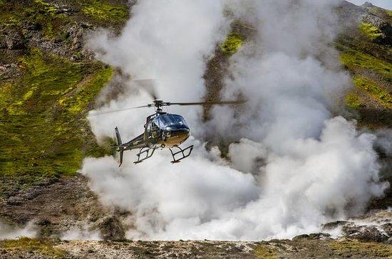 Helicopter Flight from Reykjavik: Thingvellir National Park and...