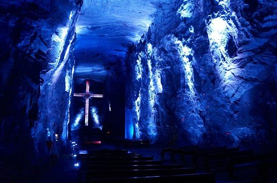 Zipaquira Salt Cathedral and Lake...