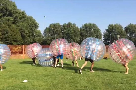 Bubbelvoetbal Amsterdam