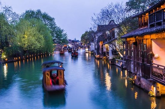 Zhujiajiao Water Town and Shanghai...