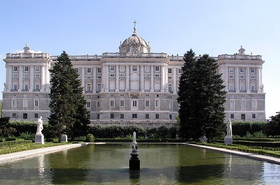 Royal Palace Madrid Ettermiddag...