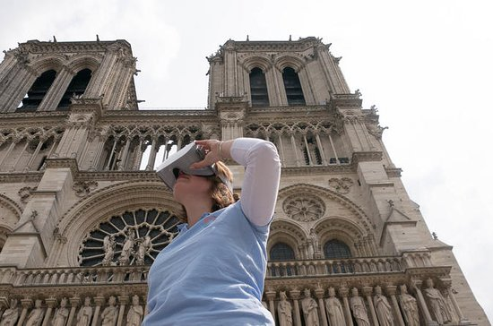 Notre-dame de Paris medieval virtual...