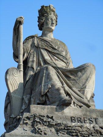 Statue de Brest