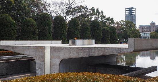 Hiroshima Peace Memorial Park: flame