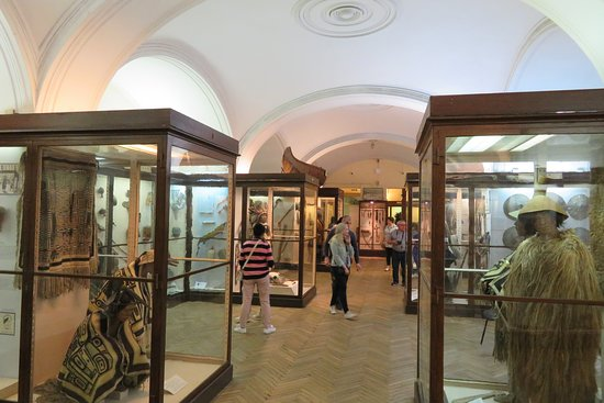 Kunstkamera Peter The Great's Antropology and Ethnography Museum: บรรยากาศภายในพิพิธภัณฑ์